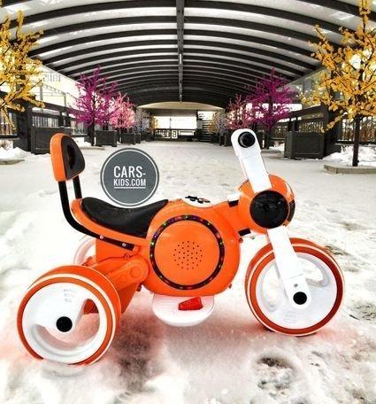 Электромотоцикл Bubble (музыка, свет, бардачок)