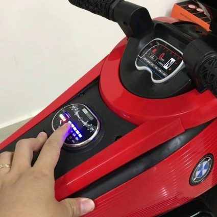 Электромотоцикл BMW Vision Next 100 - BQD-6188-ORANGE (широкие колеса, музыка, свет фар)