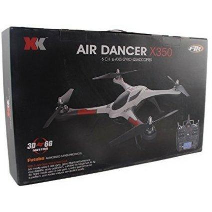 Радиоуправляемый квадрокоптер XK Stunt X350 Air Dancer